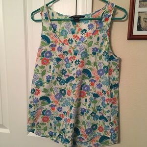 French Connection Floral Shell Top